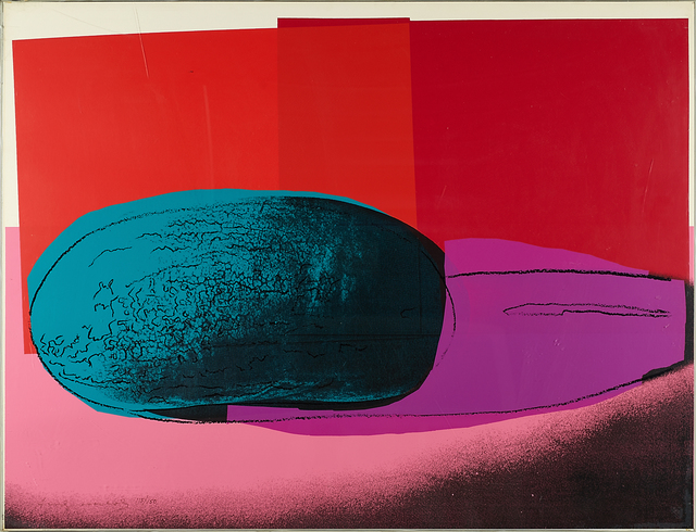 Space Fruits – Watermelon 1979 by Andy Warhol