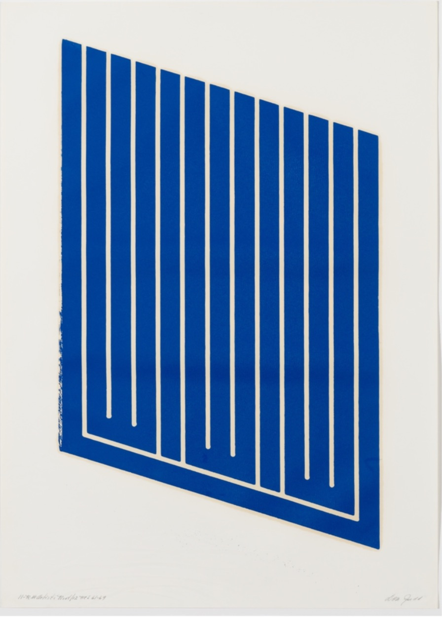 Untitled (11-R) by Donald Judd
