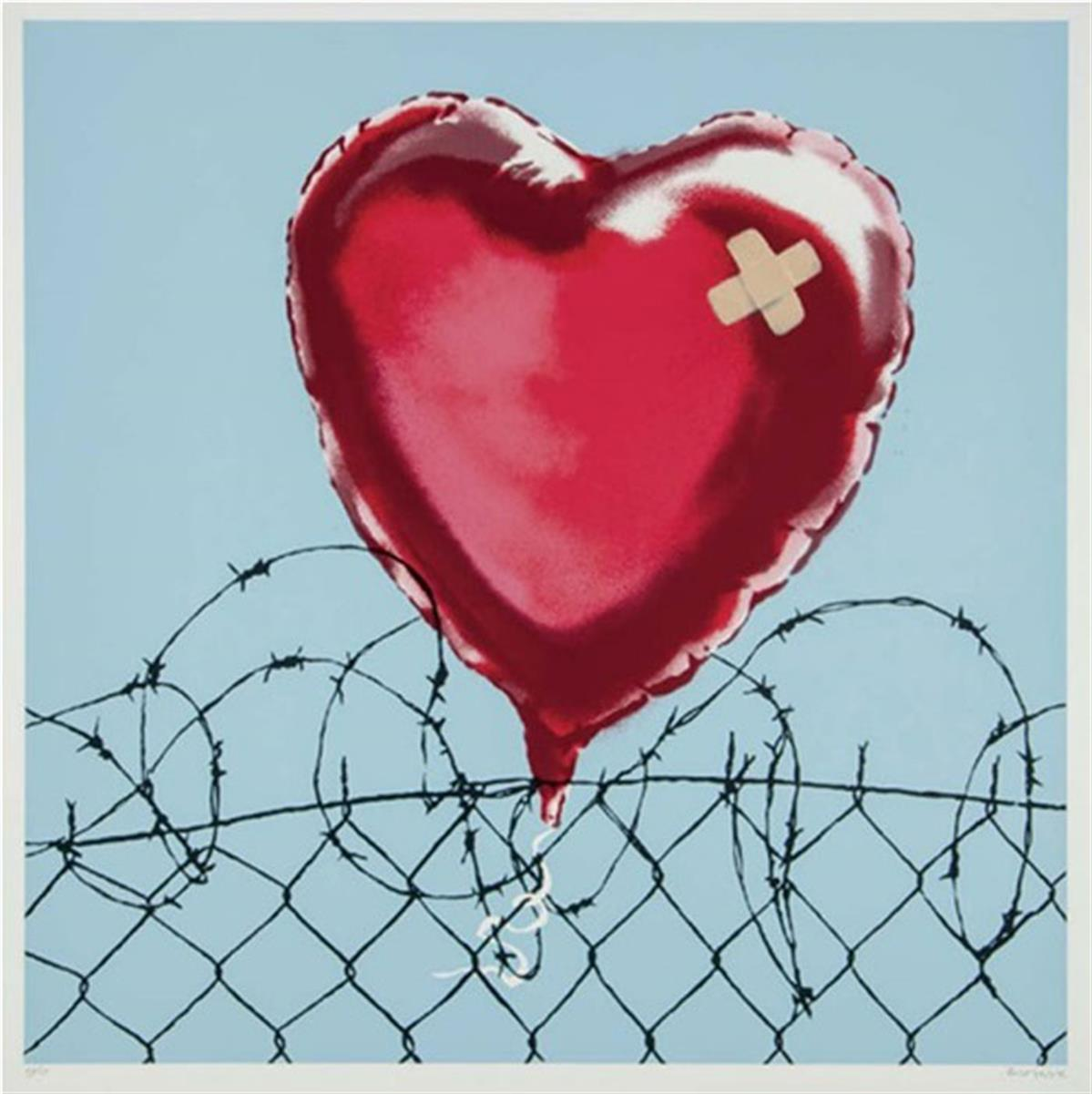 Love Hurts by Banksy