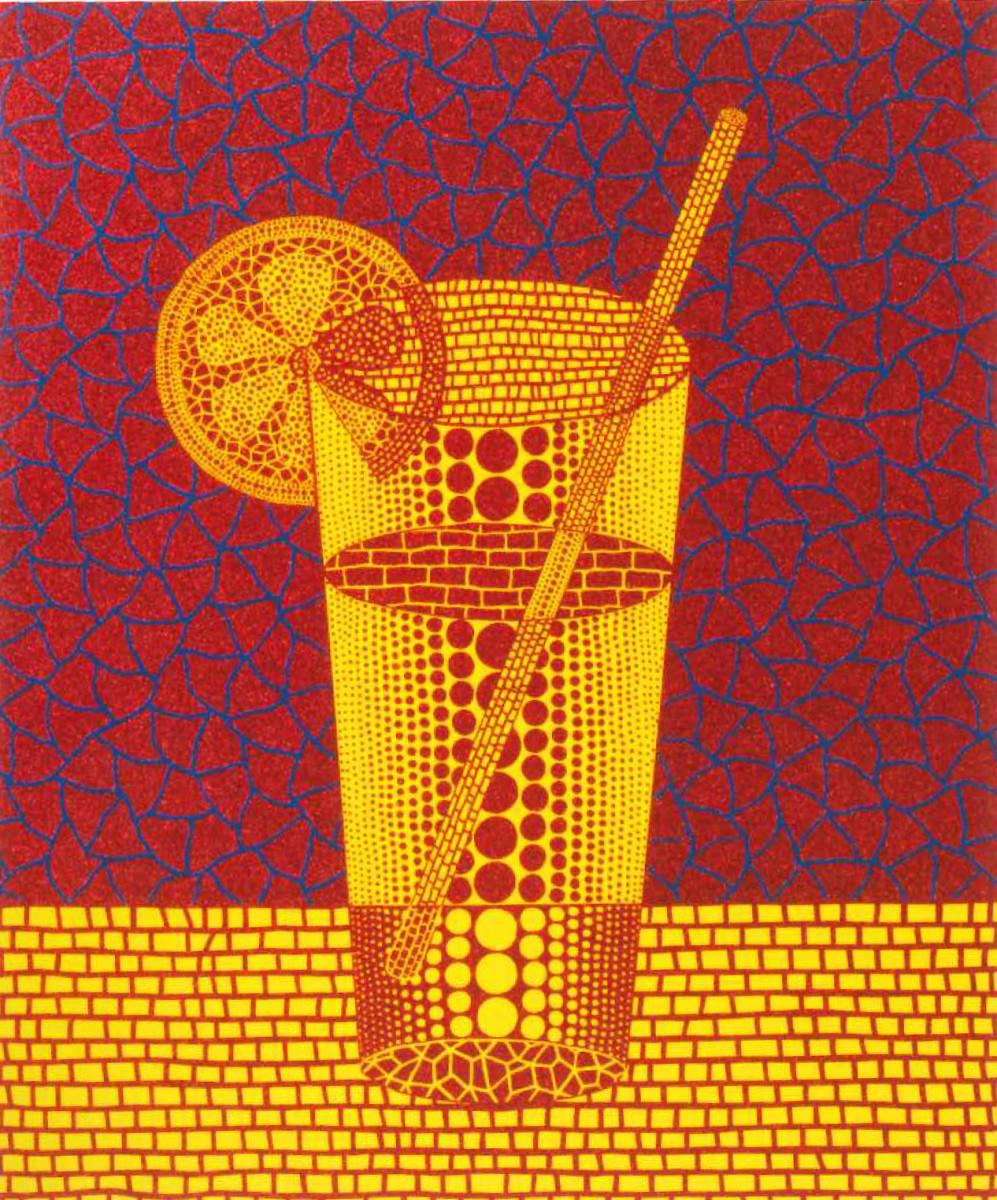 Lemon Squash 5 by Yayoi Kusama