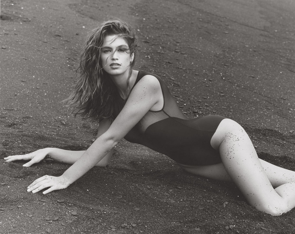 Cindy Crawford Hawaii by Herb Ritts
