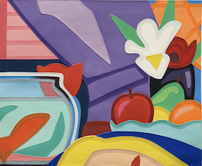 tom-wesselmann-still-life-with-blonde-and-goldfish
