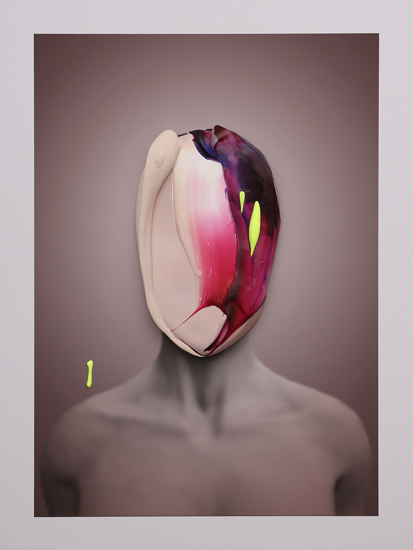 Portrait In Violet No. 3 by Fabio La Fauci