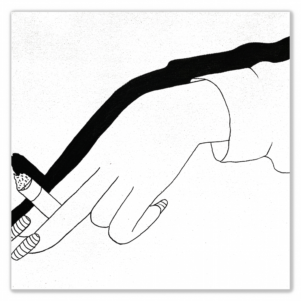 Hand With Cigarette by Ben Evans
