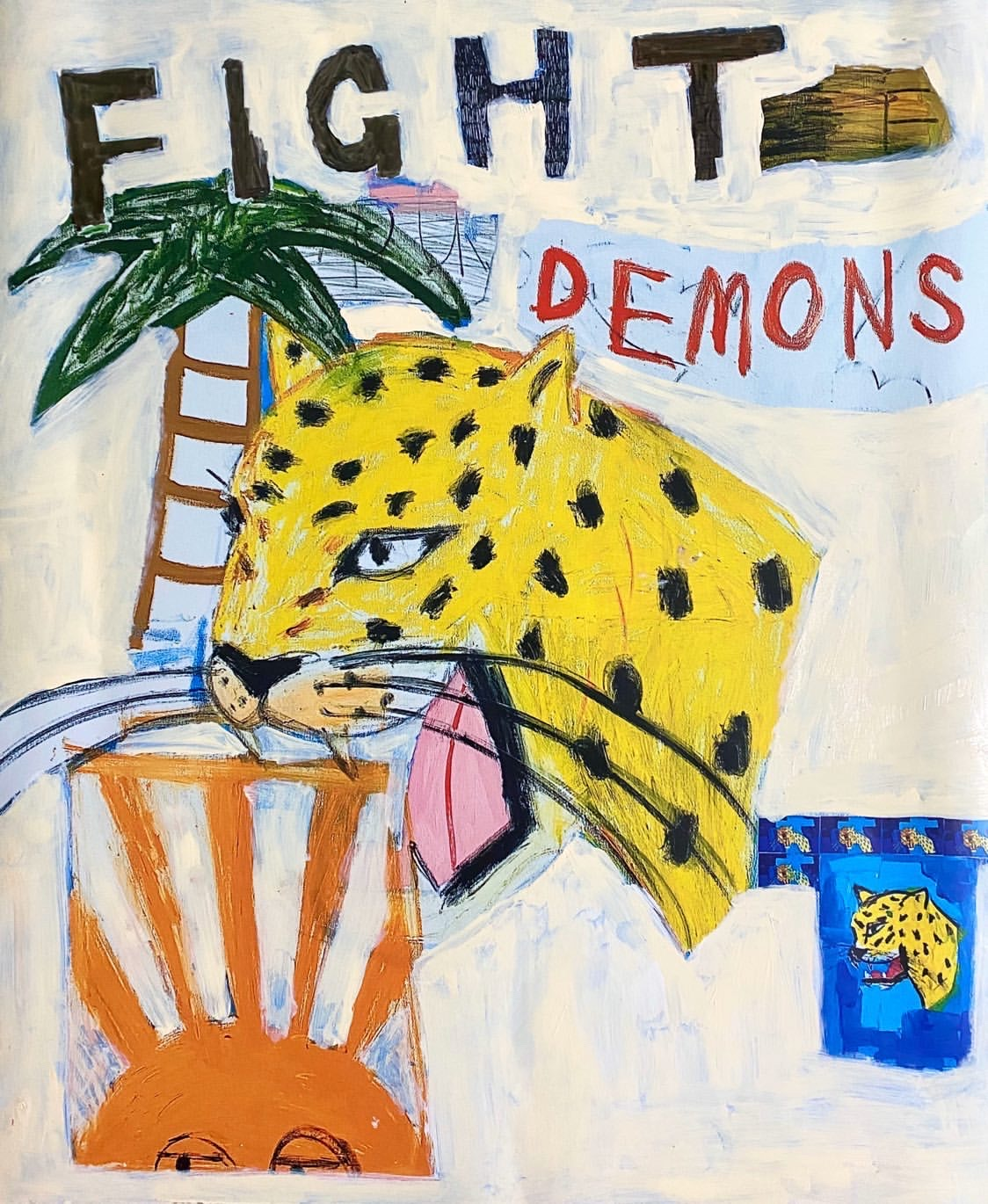 Fight Your Demons White