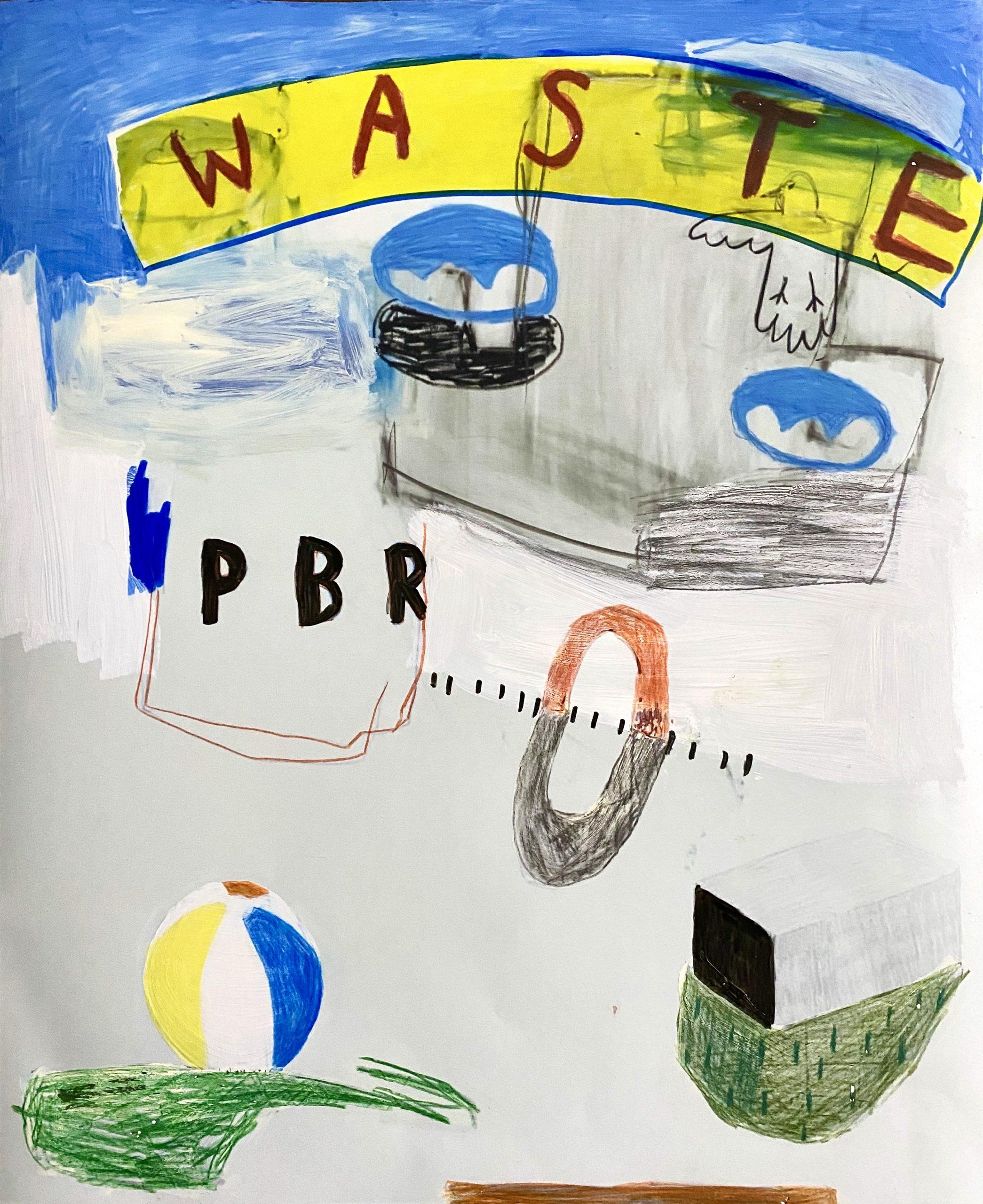 Waste Hazard by Sidney Teodoruk