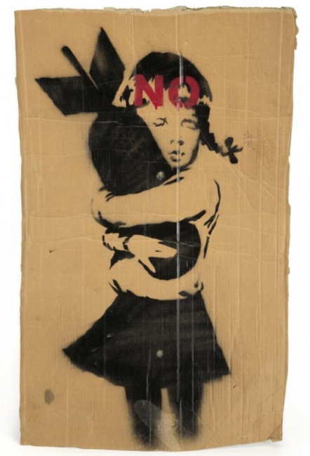 , Banksy: Wrong War Cardboards