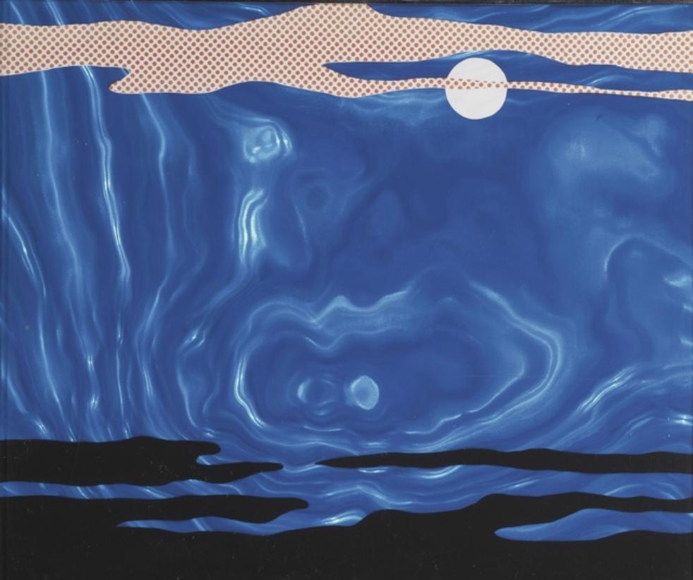 Moonscape by Roy Lichtenstein