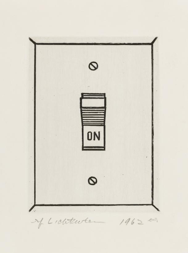 On by Roy Lichtenstein