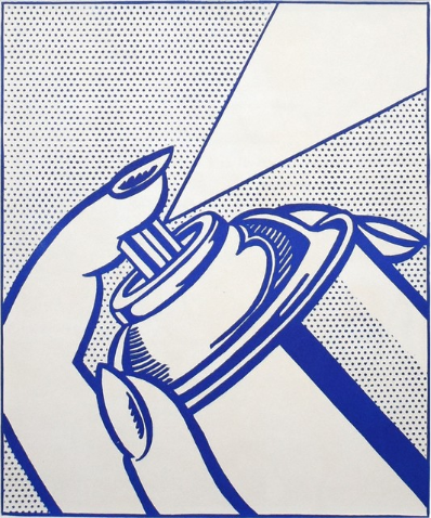 Roy Lichtenstein Spray Can 1963