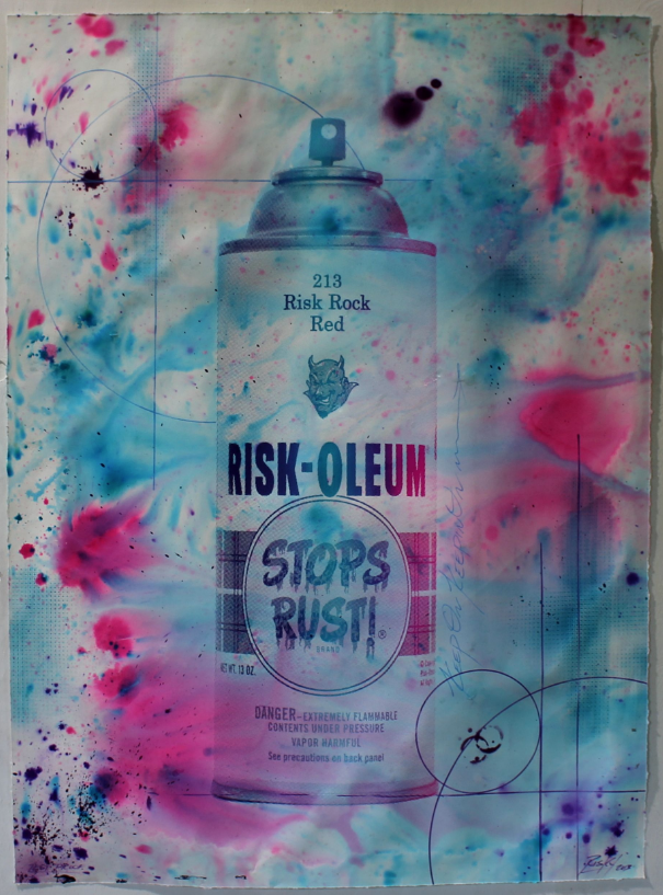 Riskoleum Hand Painted Test Proof 9 by RISK