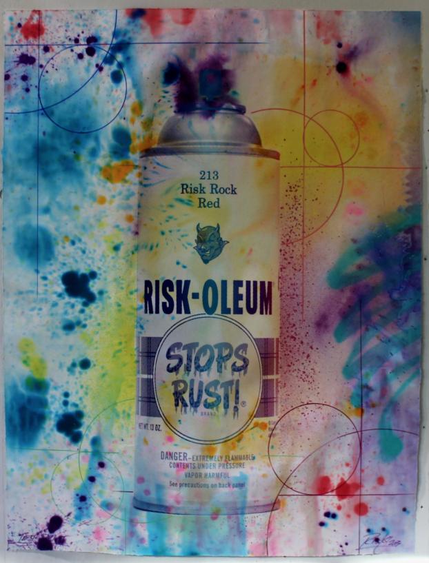 Riskoleum Hand Painted Test Proof 6 by RISK