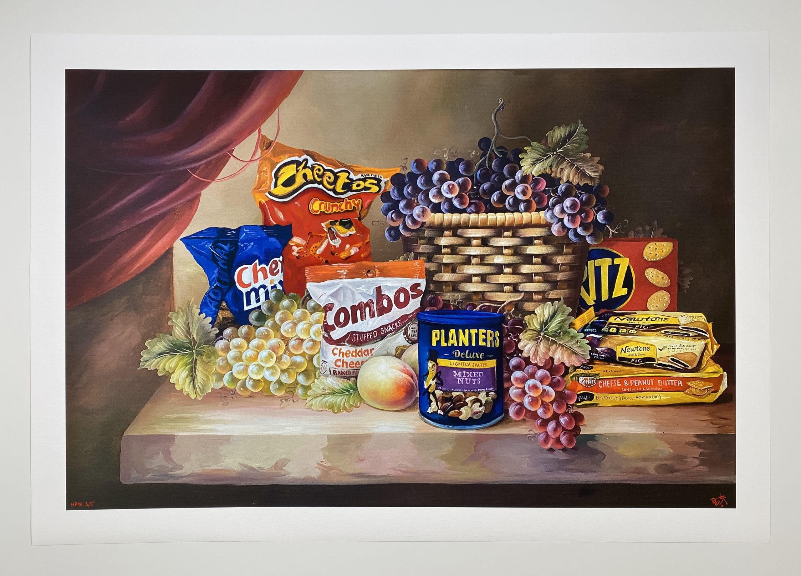 Shelf Life II (Crunchy Cheetos) by Dave Pollot