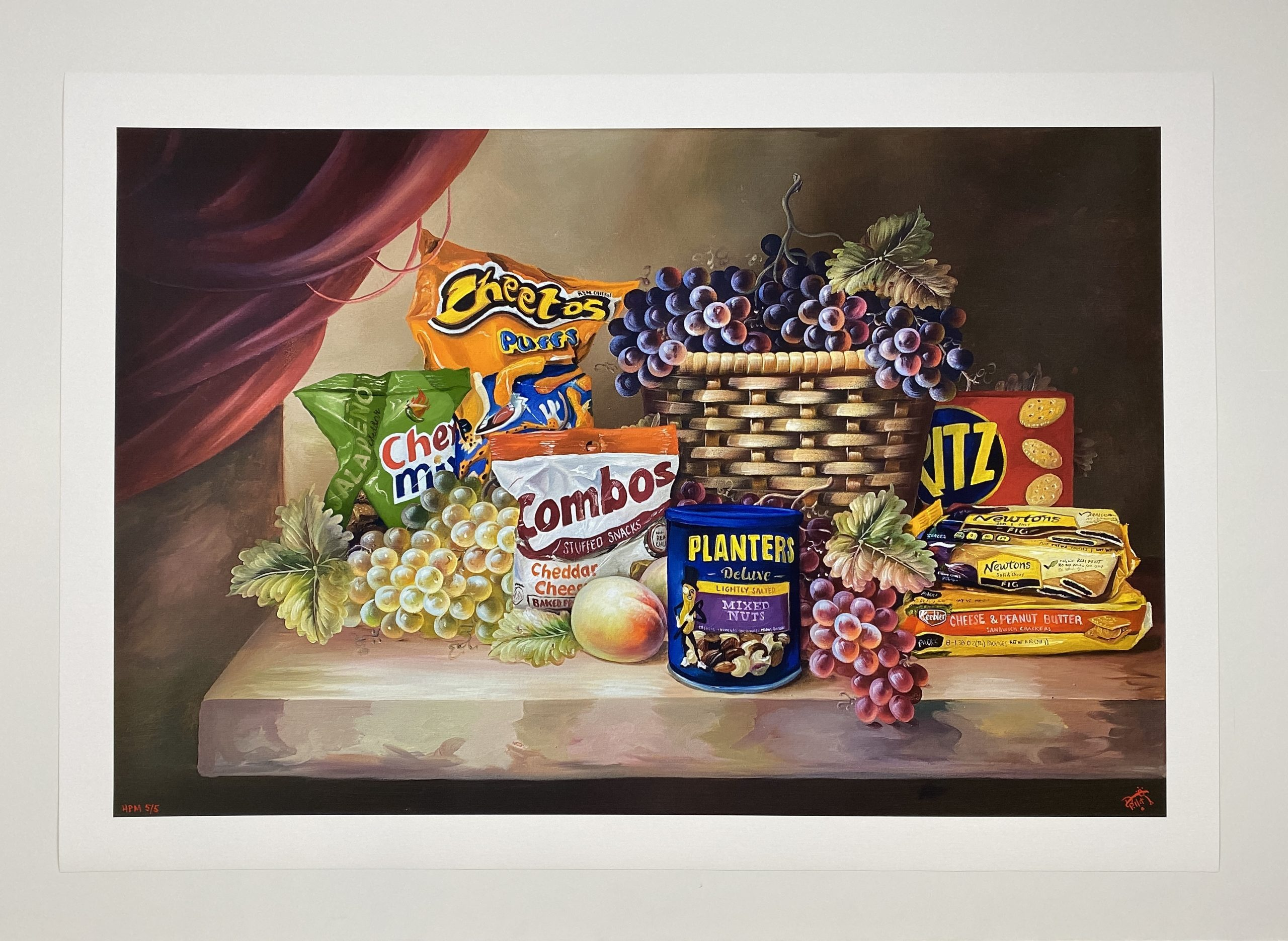Shelf Life II (Jalapeno Chex Mix) by Dave Pollot