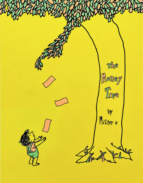 The Money Tree (Glow in the Dark Yellow) by Mister E