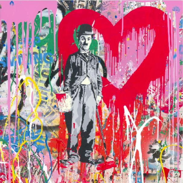 Charlie Chaplin by Mr. Brainwash
