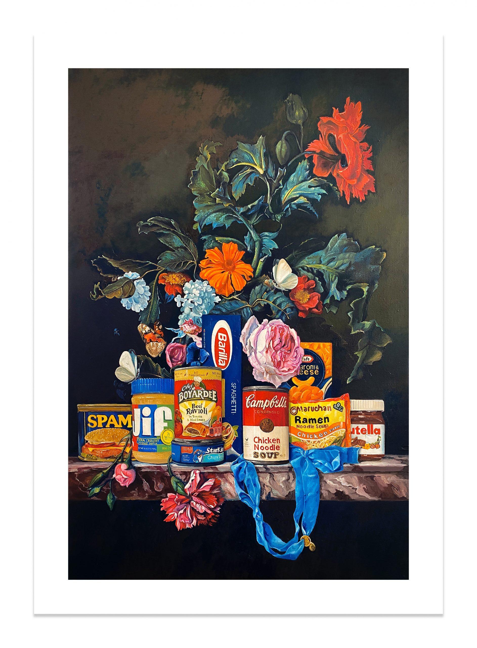 Shelf Life I (Print) by Dave Pollot