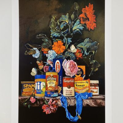 Shelf Life I (Cheese Ravioli) by Dave Pollot