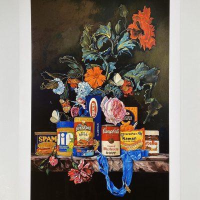 Shelf Life I (Cream of Mushrrom Soup) by Dave Pollot
