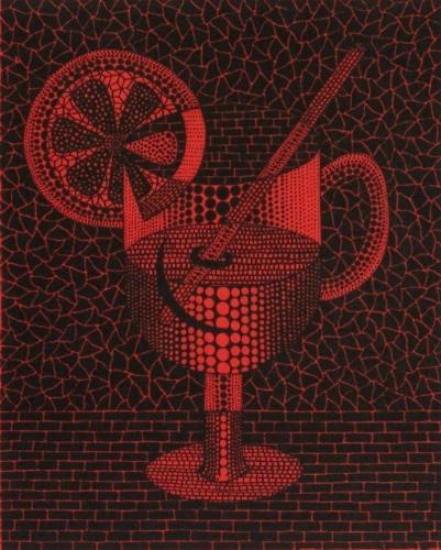 Lemon Squash (Red) Yayoi Kusama