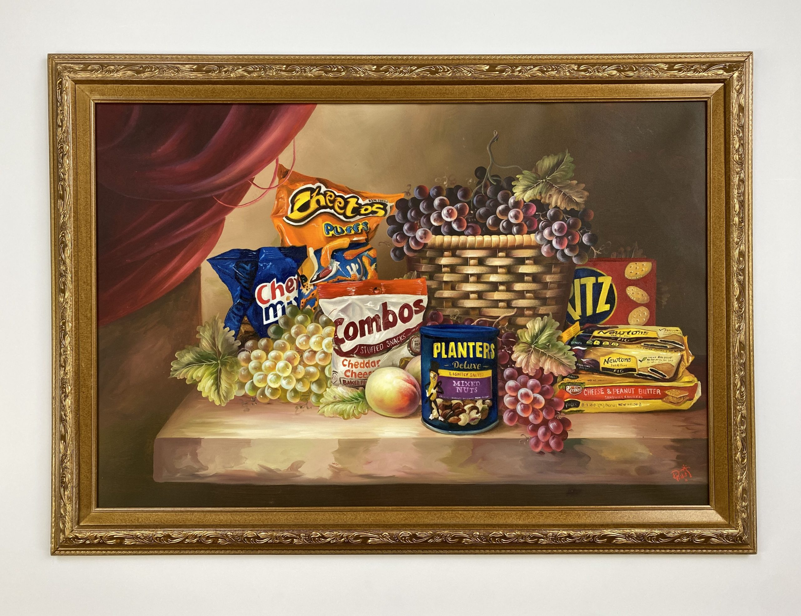 Shelf Life II (Painting) by Dave Pollot