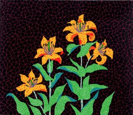Flowers (1985) by Yayoi Kusama