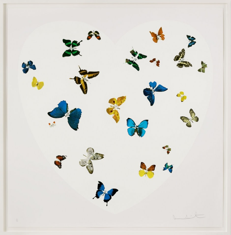 Love Is All You Need by Damien Hirst