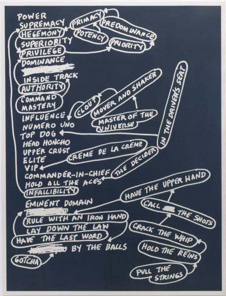 Power by Mel Bochner