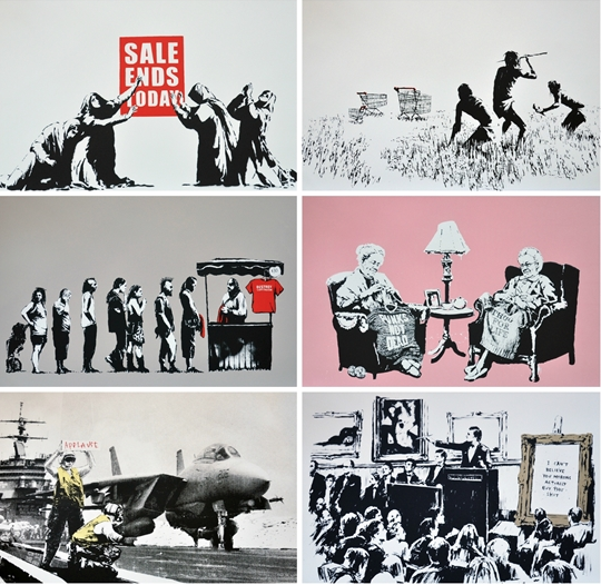 Barely Legal (LA Set) by Banksy