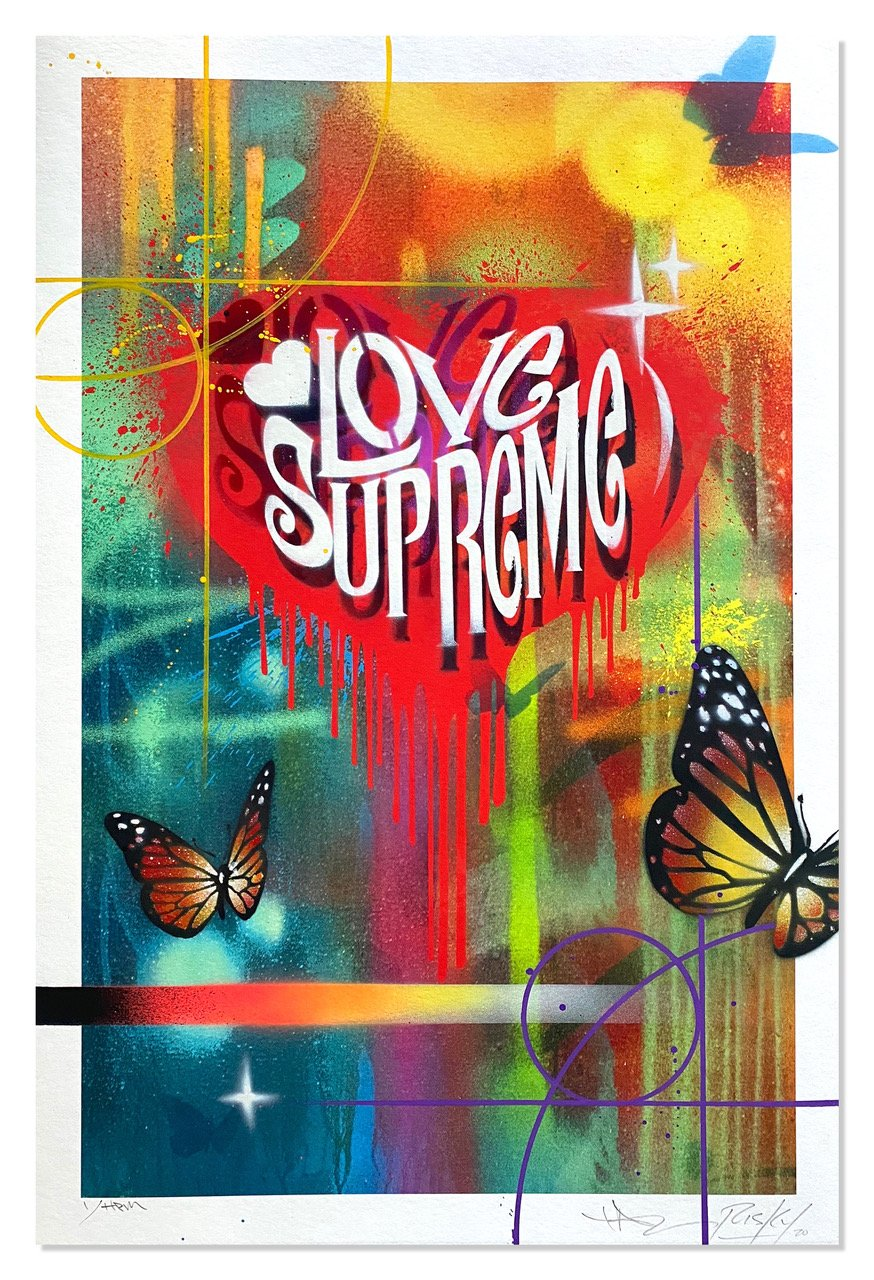 Love Supreme by RISK x Taz