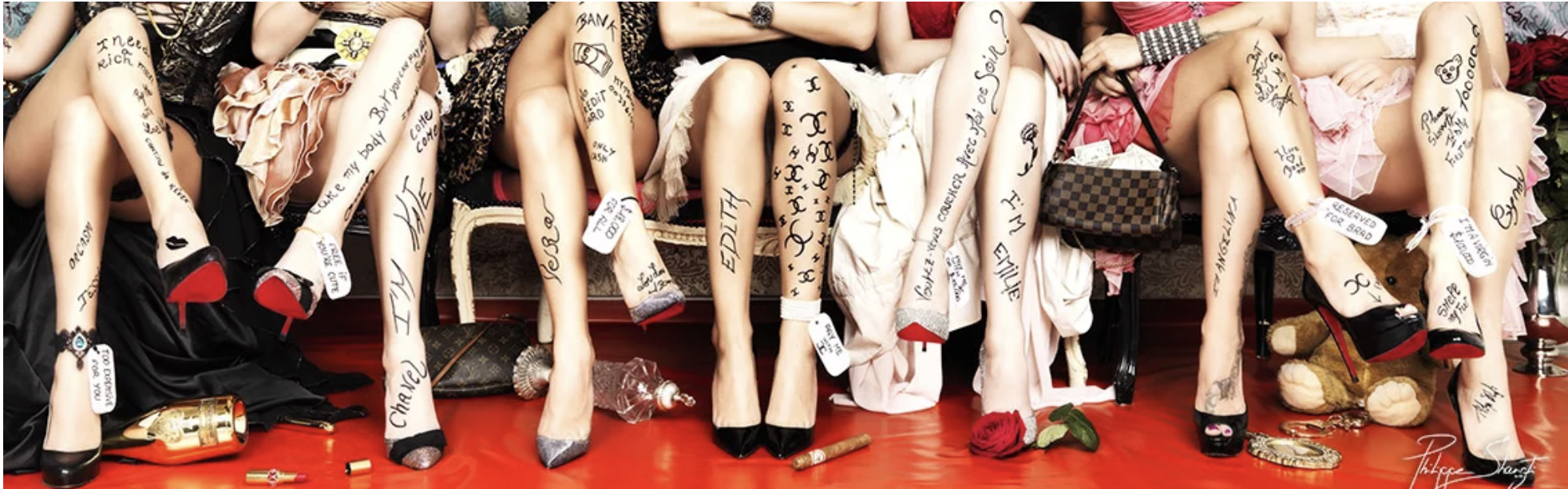 Prostitution Legs by Philippe Shangti