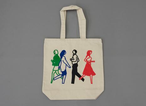 Julian Opie Shopnet Tote Bag