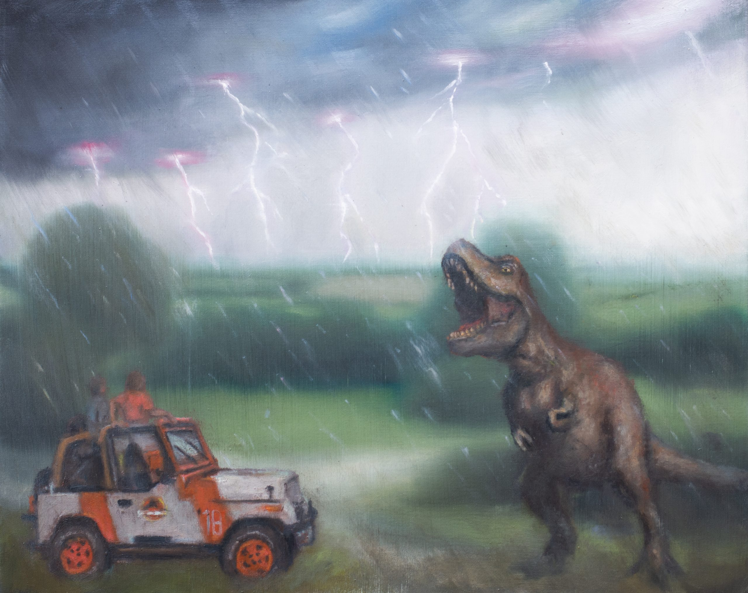 Jurassic Park UK by Tim Gatenby