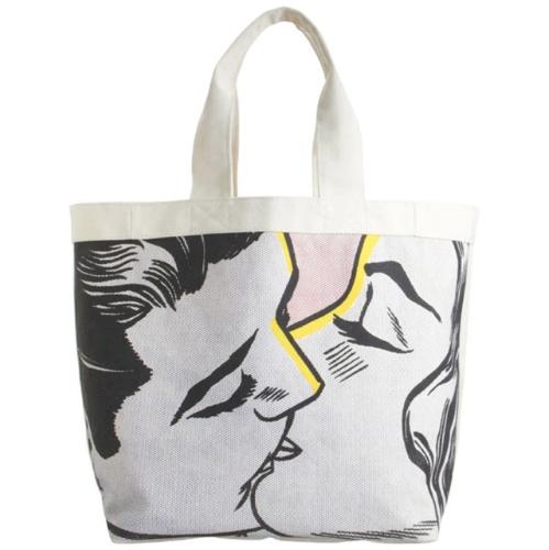 Kiss IV by Roy Lichtenstein Tote