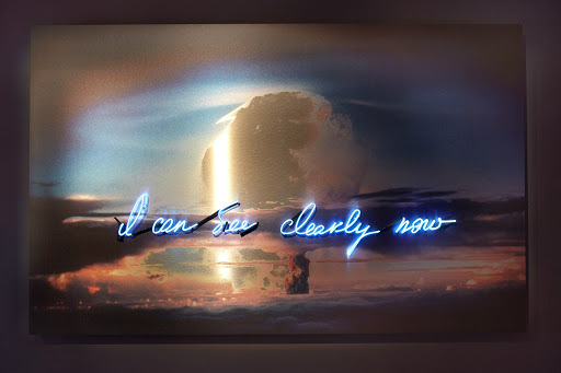 I Can See Clearly Now (Atomic Bomb) by Olivia Steele