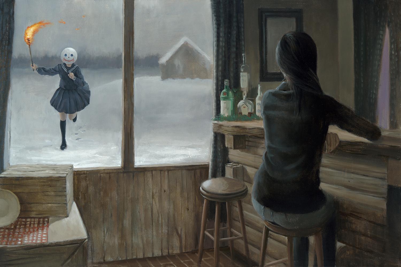 Burning II by Leegan Koo